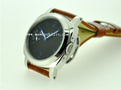 44mm Parnis without logo Black Sandwich Dial Asian 6497 Watch