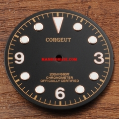 Watch parts,30.5mm watch Dial fit Miyota 8205/8215,Mingzhu DG2813/3804 movement Corgeut watch