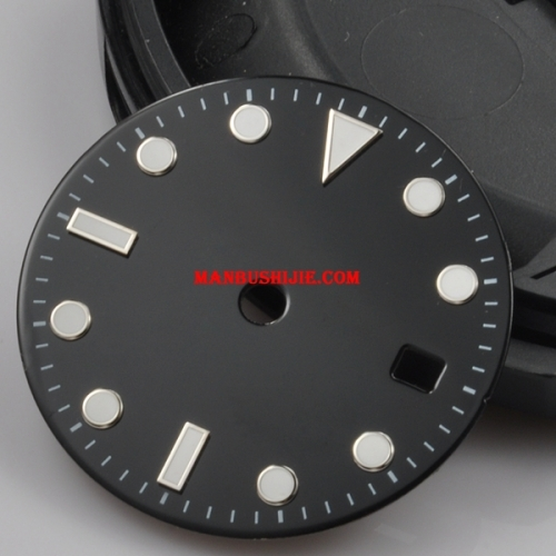 31.5mm sterile  Dial fit Mingzhu 2813/3804,Miyota 82 Series movement 43mm watch