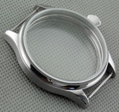 Corgeut 44mm stainless Steel watch Case fit 6497/6498 Seagul ST36 movement C32