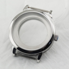 40mm Sapphire Glass watch Case Fit ETA 2836,DG2813/3804,Miyota 82 Series movement  pa31