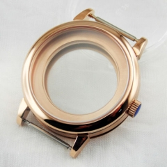 40mm-Sapphire-rose-gold-case-Fit-ETA-2836-DG2813-3804-Miyota-82-Series-movement  40mm-Sapphire-rose-gold-case-Fit-ETA-2836-DG2813-3804-Miyota-82-Seri