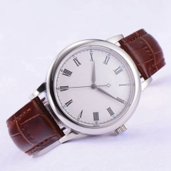 40mm Debert white sterile dial Sapphire Glass miyota 8215 Automatic mens Watch