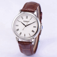 40mm Debert Sapphire Glass White Dial miyota movement Automatic Men Watch